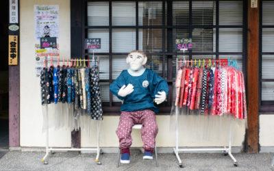 "SHIMOGYOまちなかギャラリー ""松原京極かかし商店街"" 開催中!"